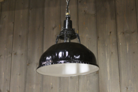 Industrie Lamp Zwart