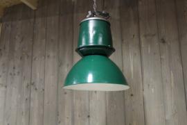Fabriekslamp Groen