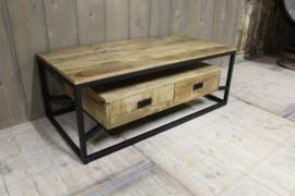 Mangohouten salontafel 120 cm