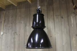 Fabriekslamp Zwart