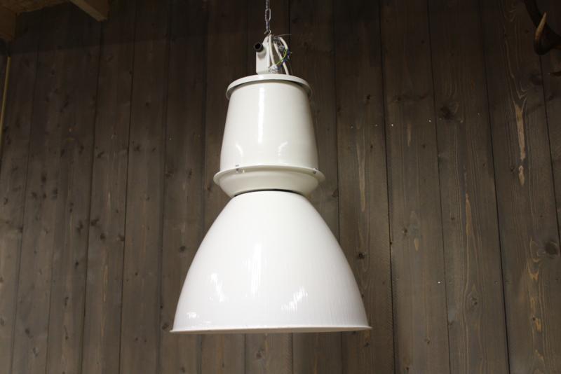 Fabriekslamp Wit