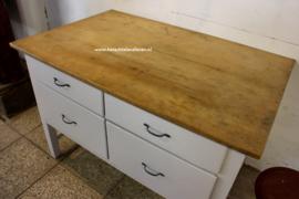 Tafel met 4 lade / 3018 / keukenblok