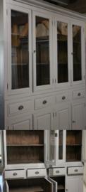 Maatwerkkast /  hele  grote vitrinekast  /1285