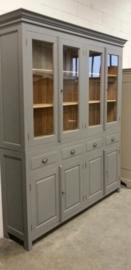 Kast op maat 4 deurs schoolkast /vitrinekast  1354