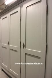 Nieuwe Handmade grote 3 deuren kledingkast / demontabel / e 3040