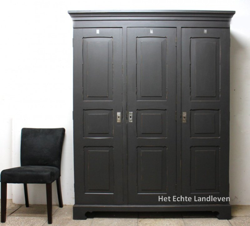 Houten lockerkast , locker  hout