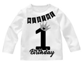 Shirt 1 Birthday + naam