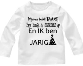 Taart Slingers Jarig