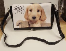 Handtas met foto en naam