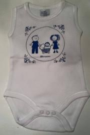 Romper met afbeelding geboortekaartje