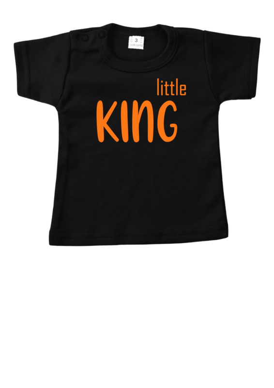 Baby Shirtje Little King + Naam