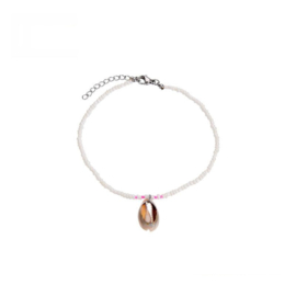 Ankle Bracelet Shell - Pink