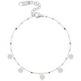 Ankle Bracelet Coins - Silver