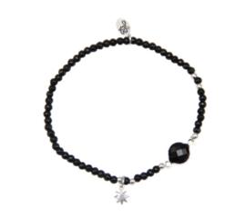 Star Bracelet - Black