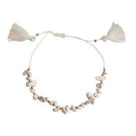 Ankle Bracelet - White