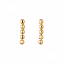 Earrings Dots - Gold