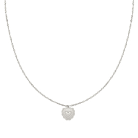 Necklace True Love - Silver