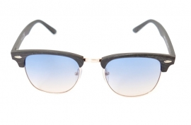 Clubmaster Wood - Blue
