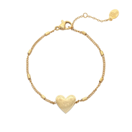 Bracelet Love To Travel - Gold