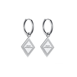 Earrings Chase Adventures - Silver