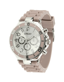Silicone Watch - Taupe