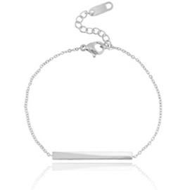 Bar Bracelet - Silver