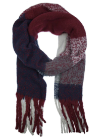 Knitted Scarf - Bordeaux