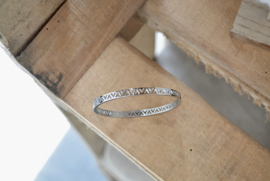Triangle Bracelet - Silver