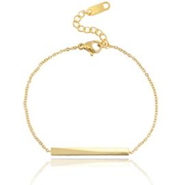 Bar Bracelet - Gold