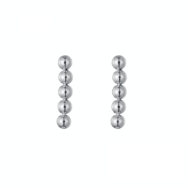 Earrings Dots - Silver
