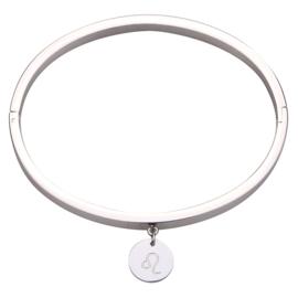 Bracelet Astrology Leeuw - Silver