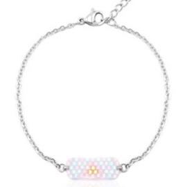 Miyuki Bracelet - Silver
