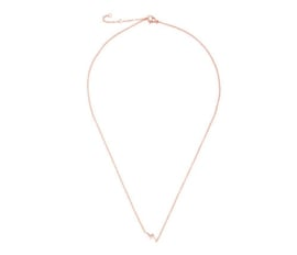 Necklace Thunderbolt - Rosé