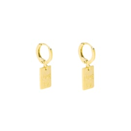 Earrings My Love - Gold