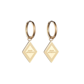 Earrings Chase Adventures - Gold