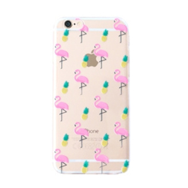 Flamingo Pineapple Case - Silicone