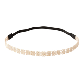 Headband Lace - Soft Pink