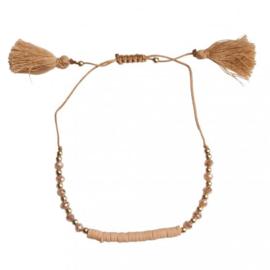 Ankle Bracelet - Light Brown