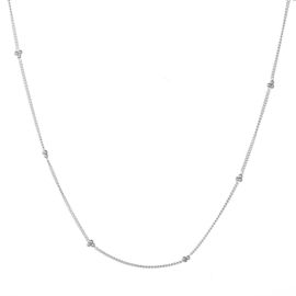 Necklace Ball Chain - Silver