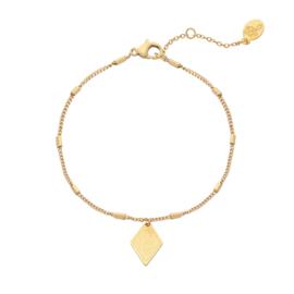 Bracelet Leopard Spots - Gold