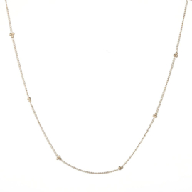 Necklace Ball Chain - Gold