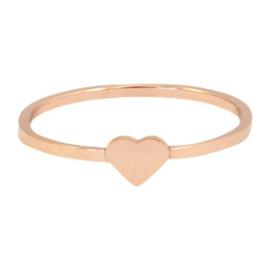 Ring Little Heart - Rosé