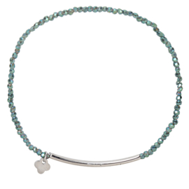 Crystal Beads Bar - Green