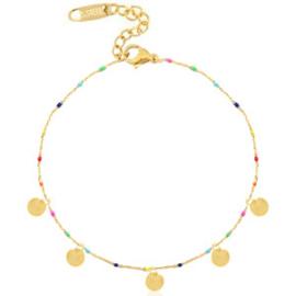 Ankle Bracelet Coins - Gold