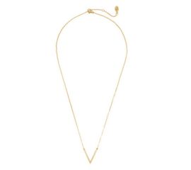 V Necklace - Gold
