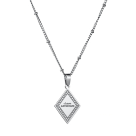 Necklace Chase Adventures - Silver