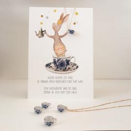 Gein konijn 'Kopje - met ene lach'