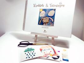 Invulboek Krabbels en Tekeningen
