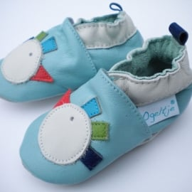 Babyslofjes licht blauw