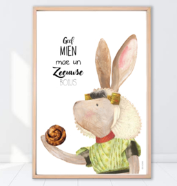 Gein Konijn poster ' Zeeuwse Bolus'